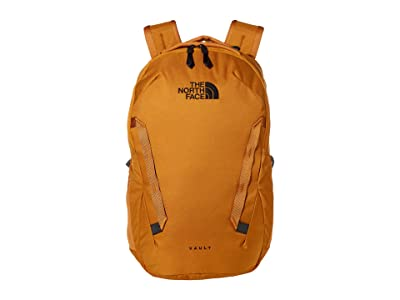 The North Face Vault Backpack (Timber Tan/TNF Navy) Backpack Bags