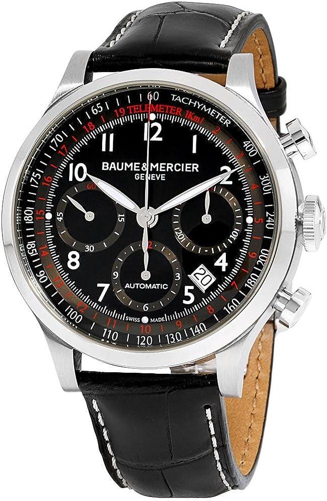 Baume & mercier capeland orologio analogico da uomo con display automatico BMMOA10084