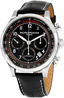 Baume & Mercier - Reloj automático Suizo BMMOA10084 Capeland para Hombre con Pantalla analógica, Color Negro