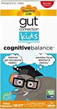 Country Life, Gut Connection Kids – Cognitive Balance, Improves Gut Microbiome Health and Promotes Focus, Attention and Me...