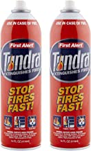 First Alert Fire Extinguisher | Kitchen Value Pack, Tundra Fire Extinguishing Aerosol Spray, Pack of 2, AF400-2