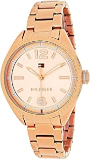 Tommy Hilfiger Women's 1781521 Casual Sport Analog Display Quartz Rose Gold Watch