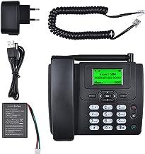 Lychee Wireless SIM Card gsm Classic Deskphone Teléfono de Escritorio Teléfono SMS Función para Empresas o familias