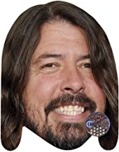 Celebrity Cutouts Dave Grohl (Smile) Big Head. Larger Than Life mask.