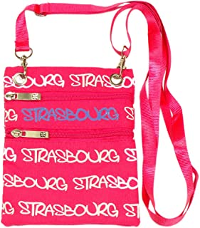 Strasbourg Robin Ruth Passport Bag - Fuchsia