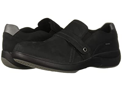 Aravon RS WP Slip-On (Black Nubuck) Women