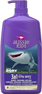 Aussie Kids G'day Grape 3 In 1 Shampoo + Conditioner + Body Wash, 778 milliliters