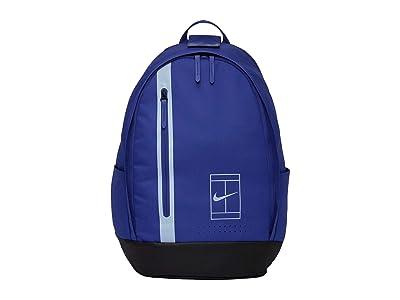 Nike Court Advantage Tennis Backpack (Deep Night/Royal Tint/Royal Tint) Backpack Bags