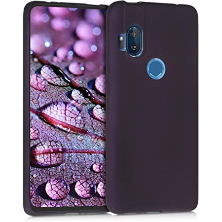 Official PLdesign Blue And Purple Sparkly Metallic Soft Gel Case Compatible for Motorola One Hyper
