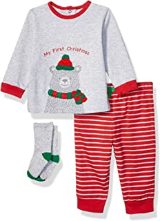 Little Me Baby Boy's Holiday Cotton Pants