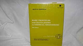 Basic Principles and Calculations in Chemical Engineering/Book and Disk (PRENTICE-HALL INTERNATIONAL SERIES IN THE PHYSICAL AND CHEMICAL ENGINEERING SCIENCES)