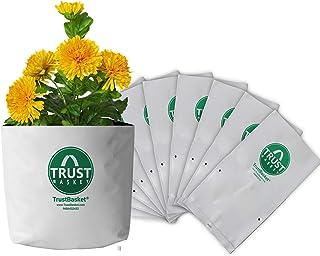 TrustBasket Poly Grow Bags UV STABILIZED -10 Qty [20cms(L) x20cms(W) x35cms(H)]