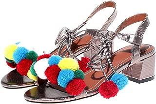 Robert Westbrook Women Gladiator Sandals Red Pink Blue Gold Silver Medium Heels Peep Toe Female Sandal