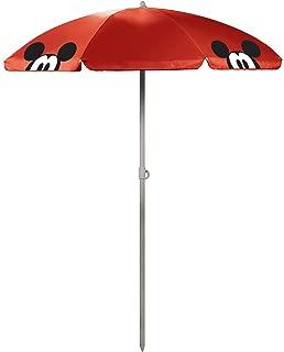 Disney Classics Mickey/Minnie Mouse Outdoor Canopy Sunshade Umbrella 5.5'