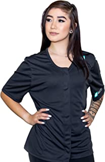 Heal in Comfort Women Breast Cancer Mastectomy Shirt with Drain Pockets