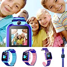 Eubell Kids Smart Watch, Color Touch Screen Smartwatch with Camera Flashlight Smartwatch for Kids, SOS Emergency Call Watch, Kids Phone Watches Compatible with iOS and Android