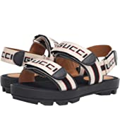 Gucci Kids - GG Double Strap Sandal (Little Kid/Big Kid)