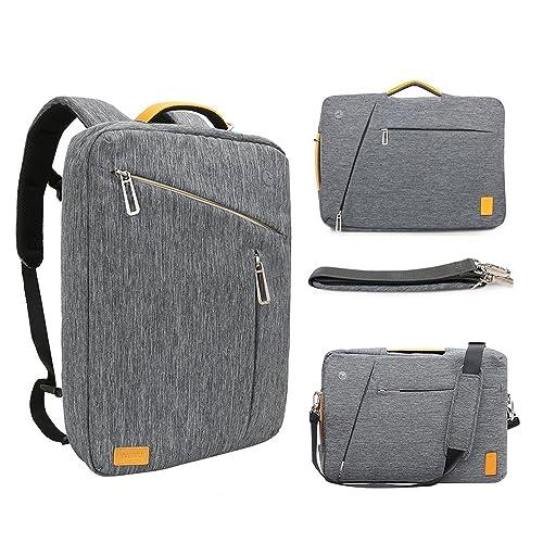 956c410ef0 15 Inch Convertible Laptop Backpack - WIWU Multi Functional Travel Rucksack  Water Resistant Knapsack Work School