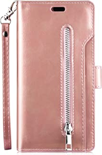 Robinsoni Custodia Compatibile con Huawei P30 Lite Cover Portafoglio con Cerniera Huawei P30 Lite Cover Libro con Slot per...