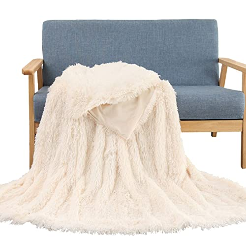 Soffte Cloud Super Soft Long Shaggy Warm Plush Fannel Blanket Throw Qulit  Cozy Couch Blanket For