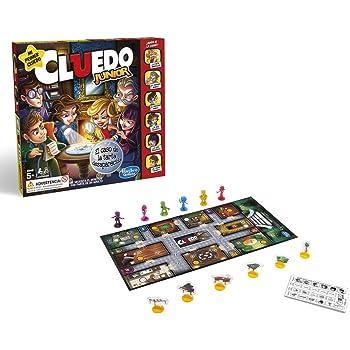 Hasbro Gaming- Juegos Cluedo Junior (Versión Española), Multicolor ...