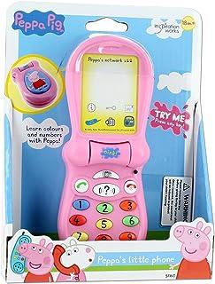 Trends UK Ltd Pink Peppa Pig Little Cellphone for Kids!
