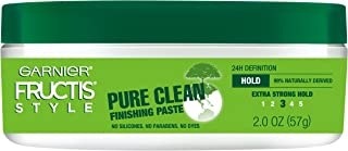 Garnier Fructis Style Pure Clean Finishing Paste for Hair, 2 Ounce Jar, (Packaging May Vary) Pack of 1