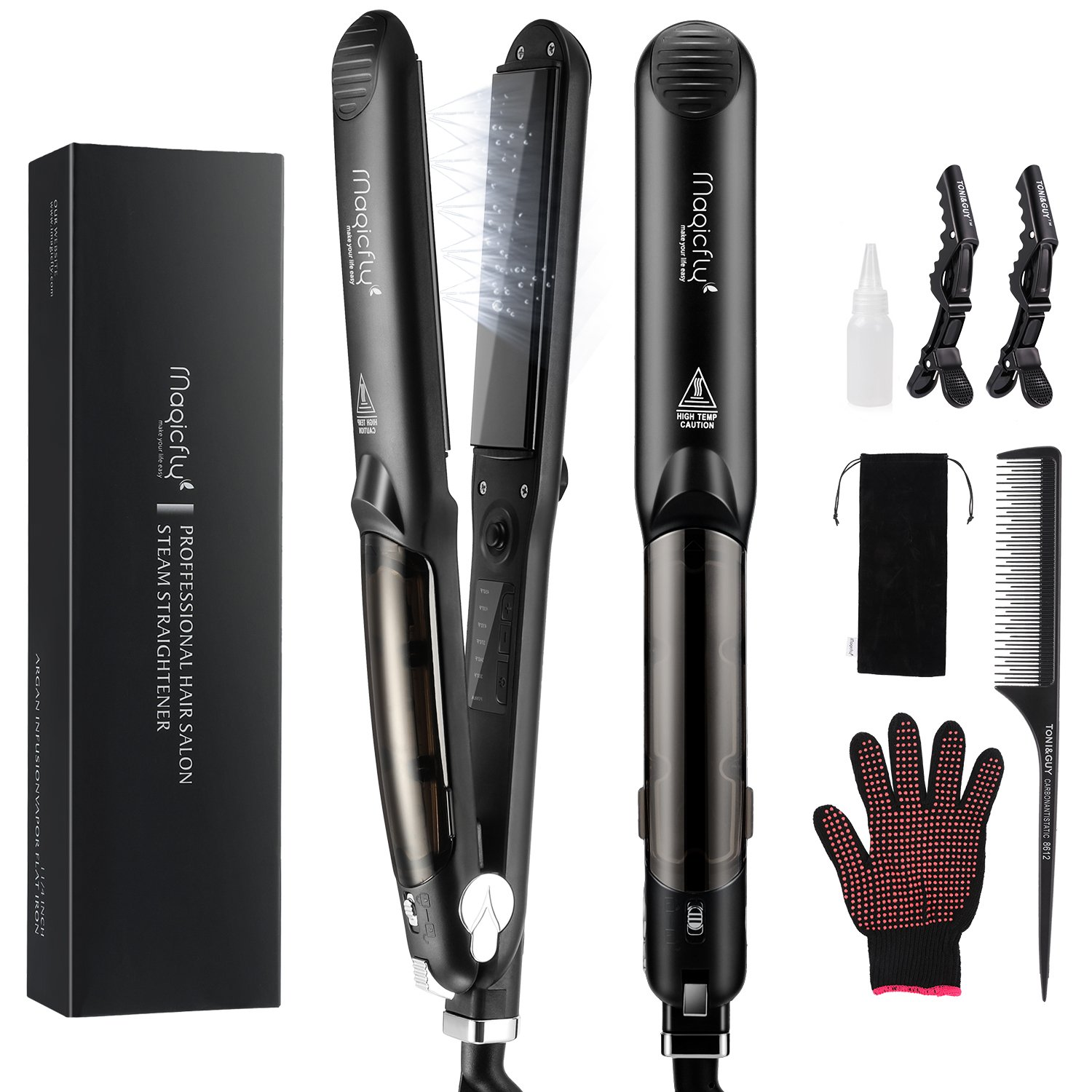 Straightener Magicfly Professional Tourmaline 360%C2%B0Swivel