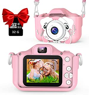 YOTOCOOL Kids Camera for Girls Boys, Kids Selfie Camera, 20.0MP HD Digital Video Camera for Children, Dual Camera Camcorde...