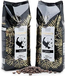 Café de Brasil en grano Consuelo, 2 paquetes de 1 kg