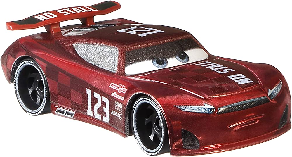 Mattel cars, next generations, jonas carvers GKB28