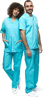 Mazalat , Ensemble Uniforme médical Unisexe avec Tunique et Pantalon