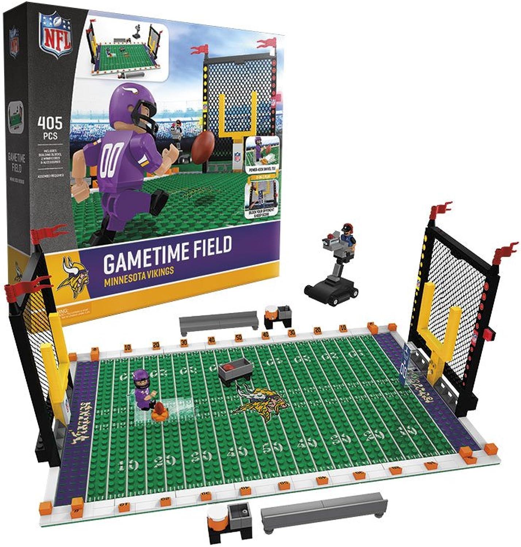 envío gratuito a nivel mundial Minnesota Vikings Vikings Vikings NFL OYO Figura and Field Team Juego Time Set