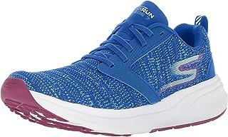 Womens GOrun Ride 7 Sneaker, Royal/Hot Pink, Size 6.5