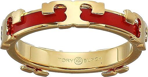 Tory Gold/Poppy Red