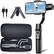 Hohem iSteady MobilePlus Gimbal Stabilizer 3 Axis Vlog Handheld Gimbal for iPhone 11/11 Pro/Max/XS/XS MAX/XR, for Samsung Galaxy S10/S10 Plus/Note 9, Playload 280G, with Face Track, Motion Lapse