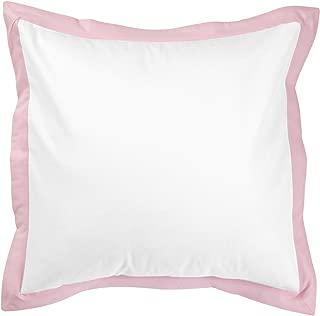 New Arrivals Stella Gray Eurosham - White/Pink