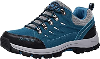 Yuekarel Men's Hiking Shoes Outdoor Sneakers Trekking Shoes Functional Shoes Waterproof Walking Platform Shoes Non Slip