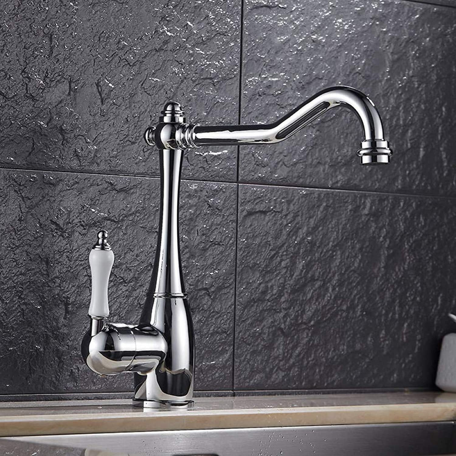 YHSGY Kitchen Taps Copper Kitchen Faucet redating Sink Sink Sink Hot and Cold Faucet