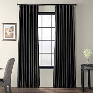 custom silk taffeta drapes