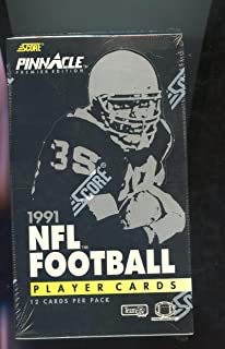 1991 Score Pinnacle Football Set Wax Pack Box FACTORY SEALED