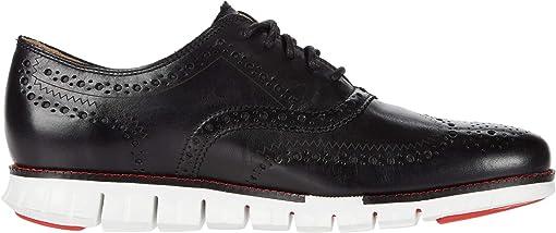 Black Leather/Optic White