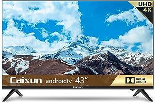 Caixun EC43S1UA, 43 inch 4K Smart TV, UHD, HDR 10, Android 9.0, WiFi, Dolby Audio, Screen share, Netflix,HDMI, USB