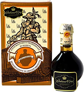 Balsamic Vinegar of Modena Traditional 12 year old DOP certified. Aceto Balsamico Tradizionale Affinato from Villa Ronzan The Balsamic Guy. On Sale Now.