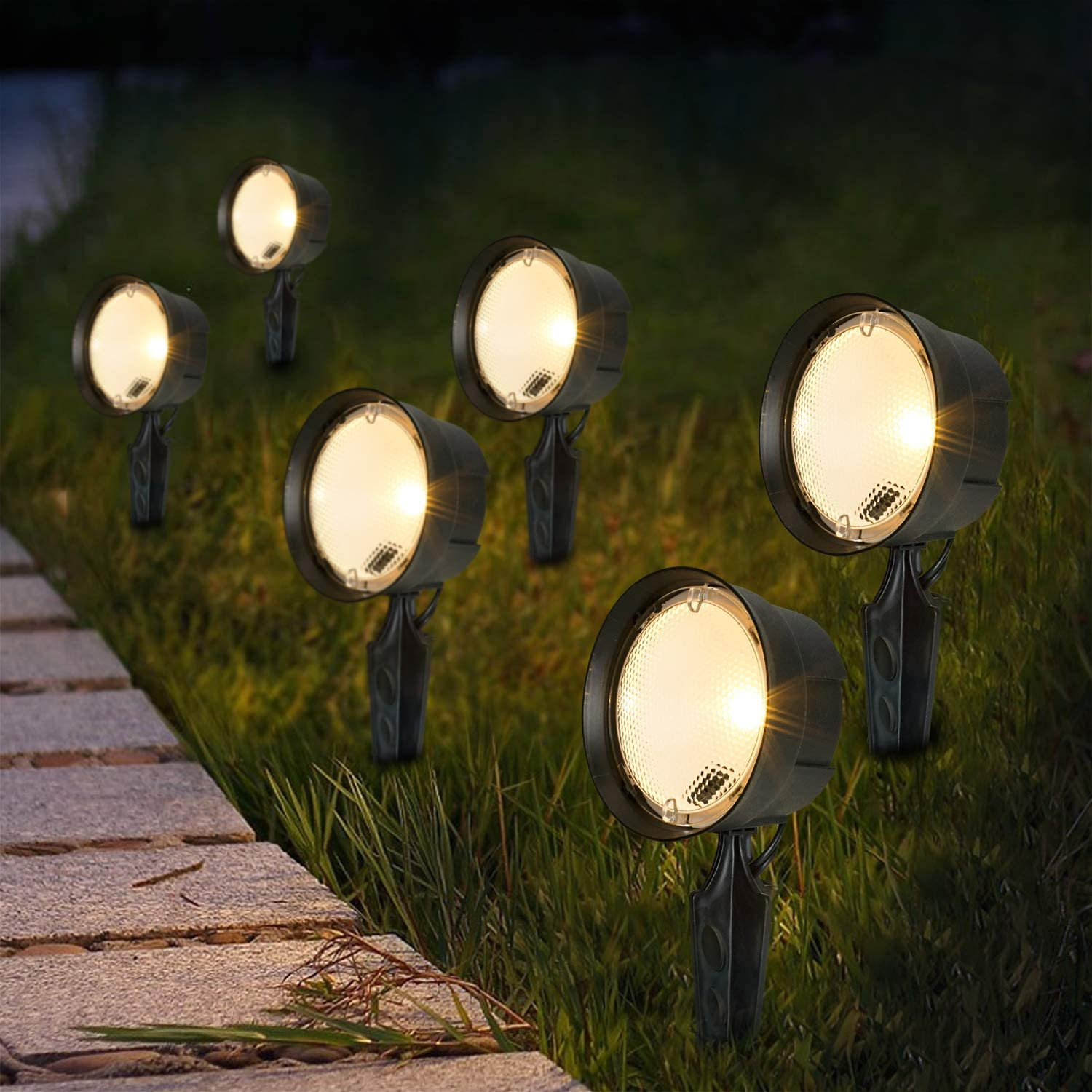Moon Bay Outdoor Low Voltage Landscape Spotlights unisex LED fo Max 55% OFF Pathway