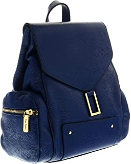 1642 BLU Navy Blue Backpack Handbags for womens
