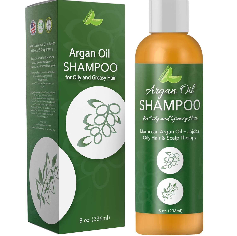 Argan Shampoo Oily Hair Scalp