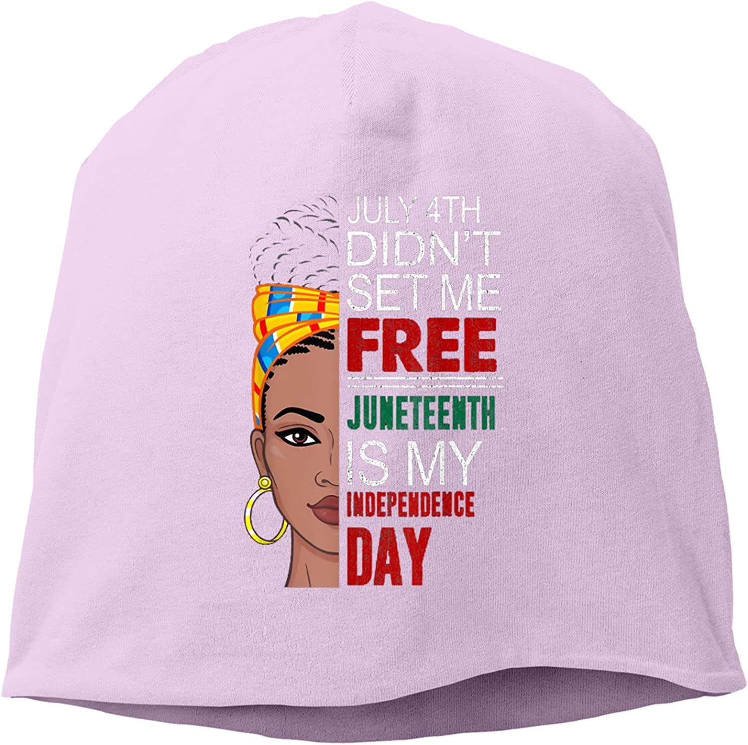 chenhe Juneteenth Super sale period limited is My Hat,Unisex Knitted Independence Day Max 87% OFF