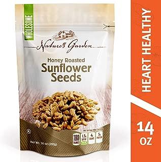 Nature's Garden Sunflower Seeds Honey Roasted - 14 oz.