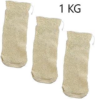 EUROXANTY®   Malla Cocción   Bolsa Legumbres   Set de 3 unidades   1 Kg